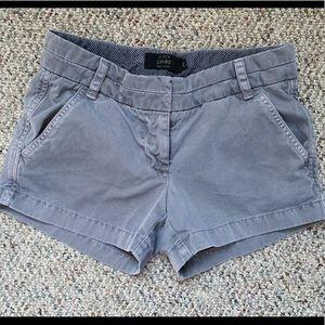 """J. Crew 3"""" Chino Shorts"""
